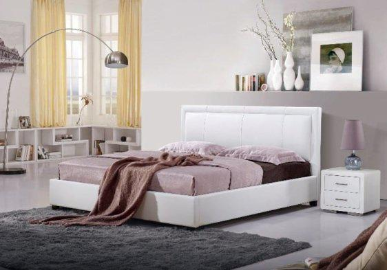Κρεβάτι Μοντέρνο με Ίσιες Γραμμές V-050459