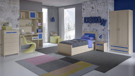 Παιδικό αλλά και εφηβικό δωμάτιο S-280021