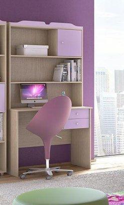 f52a96db0c2 Γραφείο για το παιδικό δωμάτιο με εταζέρα S-271045 | Epiplonet.com
