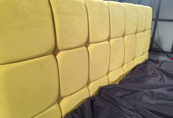 Κρεβάτι με επένδυση ύφασμα ή δερματίνη IP-050462