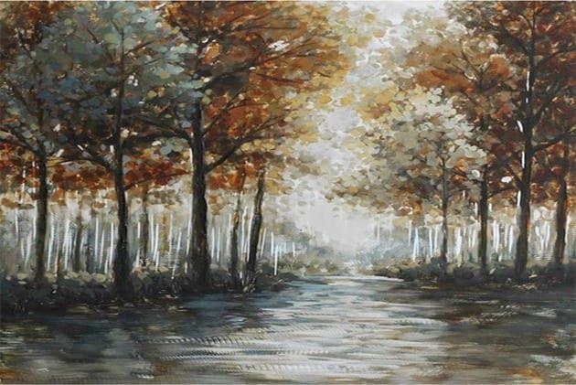 Πίνακας 'φθινοπωρινό δάσος' 80Χ120
