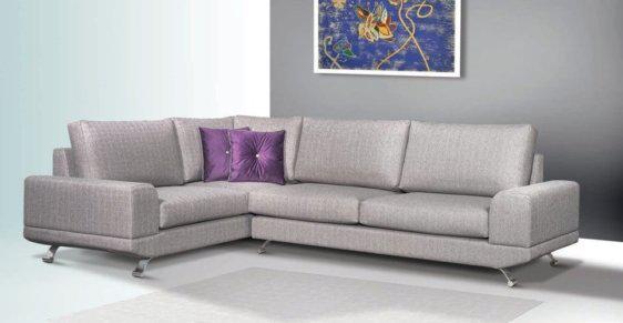 Μαξιλαράτο γωνιακό σαλόνι C-100000