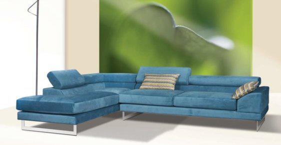Γωνιακό σαλόνι με ανακλινόμενες μαξιλάρες C-100001