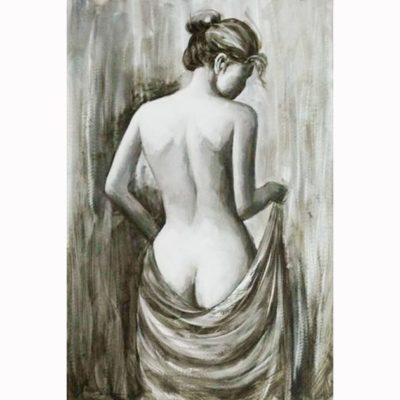 Πίνακας 'ημίγυμνη γυναίκα' 60Χ90