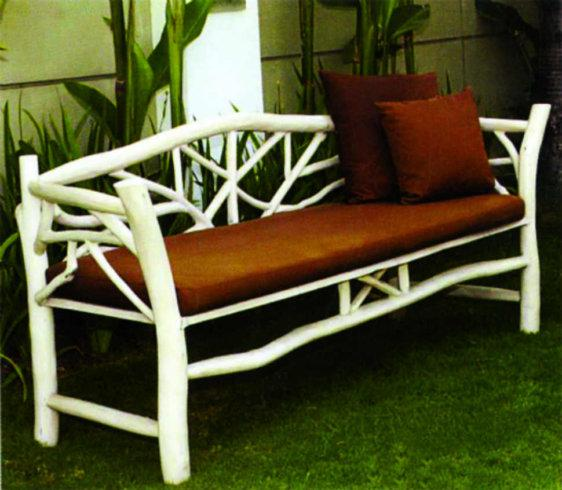 Καναπές Από Κλαριά Δέντρου Teak Ε-227005