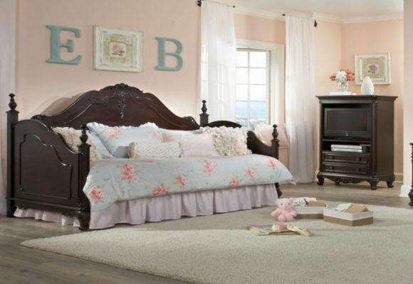 Κλασικός ξύλινος καναπές - κρεβάτι G-110057