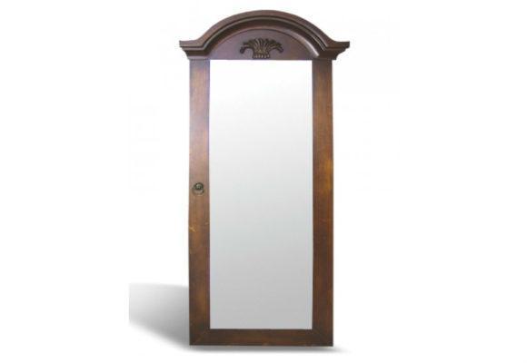 Ξύλινος Καθρέφτης - Κλειδοθήκη G-330087