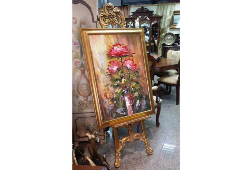 Χρυσό Καβαλέτο Δαπέδου  G-147563