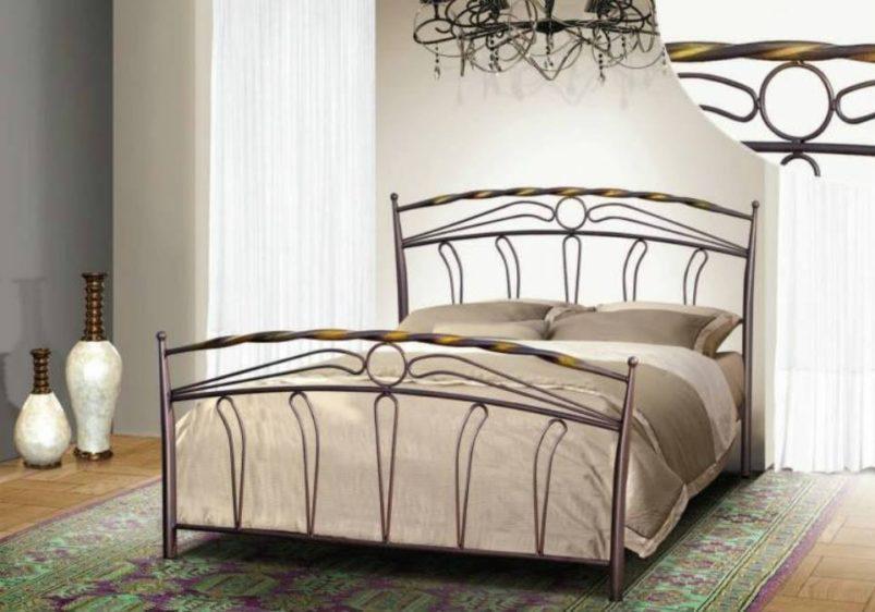 """Μεταλλικό Κρεβάτι Ελληνικής Κατασκευής  """"Ήλιος"""" Μ-050630"""