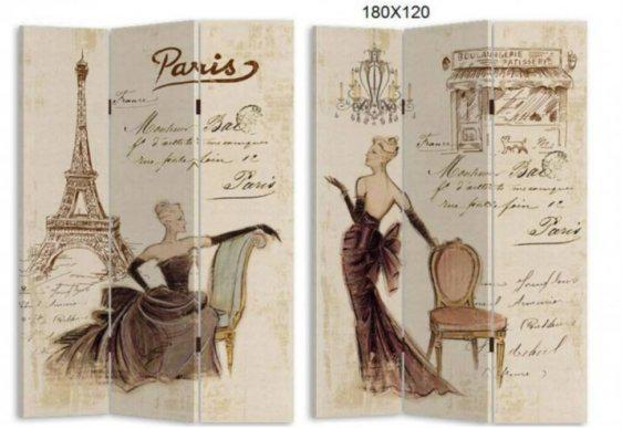 Διακοσμητικό Παραβάν Με Κλασική Γυναικεία Φιγούρα P-147561