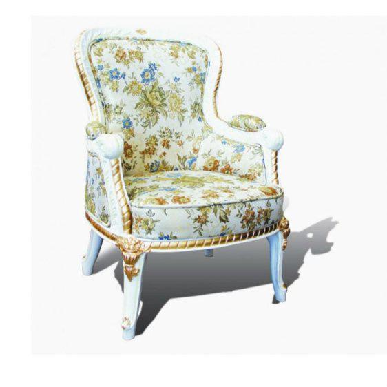 Λευκή Συλλεκτική Πολυθρόνα G-135090