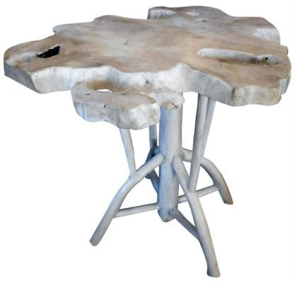 Τραπέζι Του Καφέ Από Φυσικό Ξύλο Φ70  Ε-227001