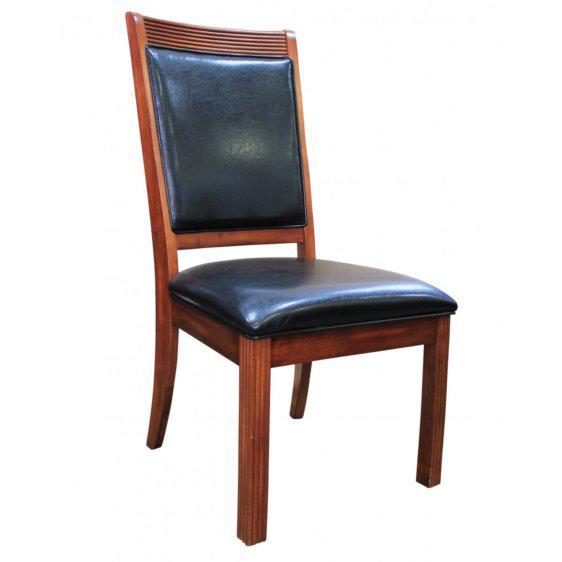 Καρέκλα ξύλινη επενδεδυμένη με δέρμα G-135068