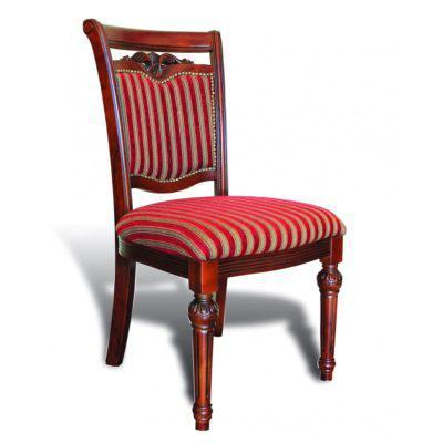 Yφασμάτινη κόκκινη καρέκλα G-135084