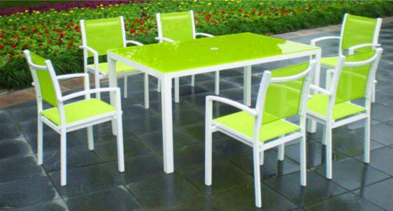 Πράσινη Πολυθρόνα Αλουμινίου Sar -220368