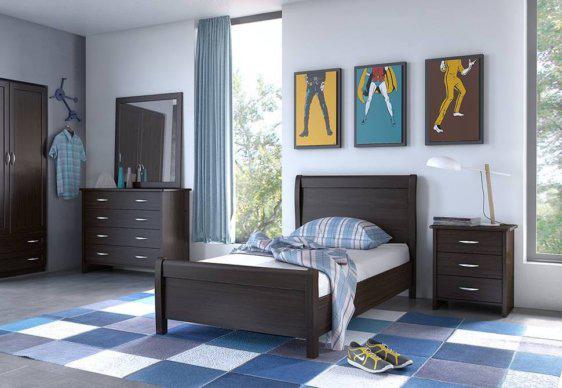 Κρεβάτια Ξύλινα μονό και ημίδιπλο Ν26 mini