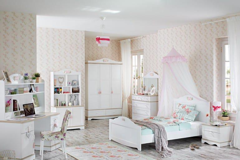 Παραμυθένιο Vintage Παιδικό Δωμάτιο για Κορίτσια R-280029 - Έπιπλα ... f724c82bb3e
