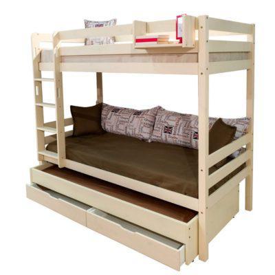 Κουκέτα με Συρόμενο Κρεβάτι Και Συρτάρι S-050616