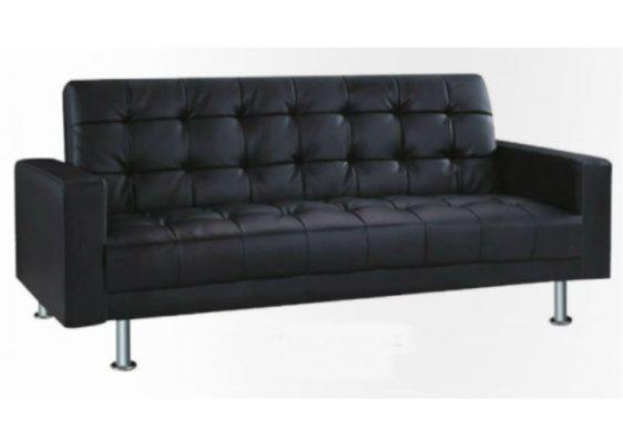 Καναπές Κρεβάτι Επενδεδυμένο Με Δερματίνη Ζ-110060