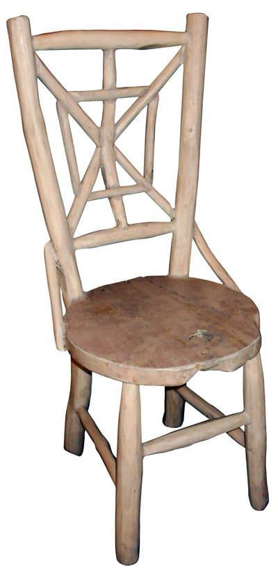 Καρέκλα Αράχνη Από Τροπικό Δέντρο Ε-227016