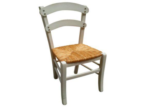 Ξύλινη Καρέκλα Παραδοσιακή Σαντορίνη K-190318