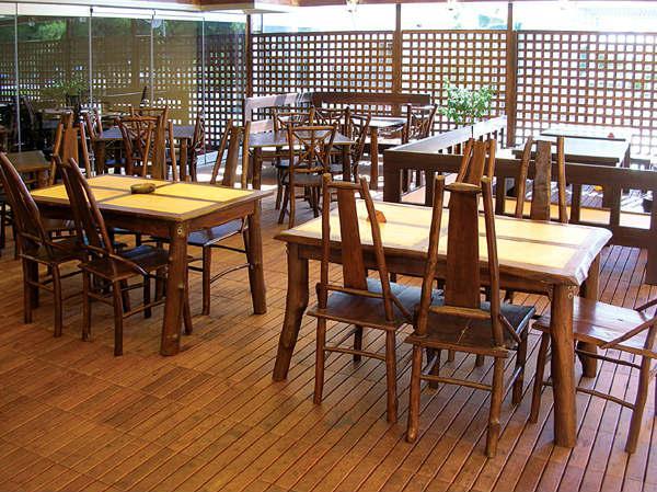 Καρέκλα Φαγητού Με Πλάτη Από Κορμό Δέντρου Teak E-227019