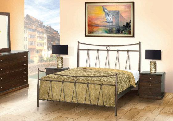 Μεταλλικό Κρεβάτι Ευκλείδης Μ-050642