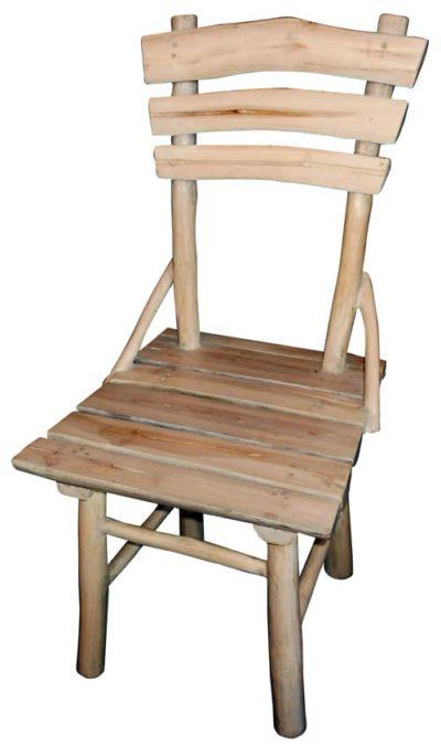 Ξύλινη Καρέκλα Από Τροπικό Δέντρο Teak E-227017