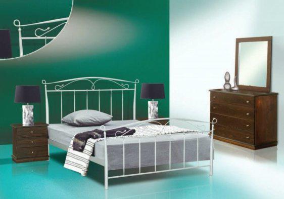 Παραδοσιακό Κρεβάτι Με Μεταλλικό Σκελετό Μ-050639