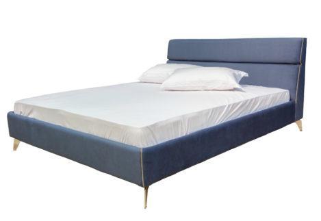 Επενδεδυμένο Κρεβάτι Με Ξύλινο Σκελετό IP-050470