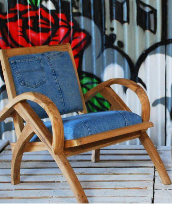 Ρηλάξ Πολυθρόνα με Jean Εμφάνιση Ε-132568