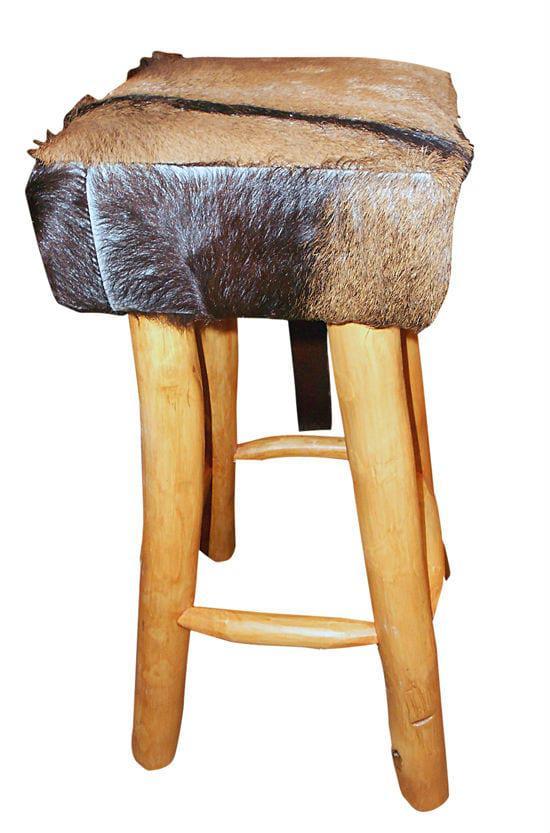 Σκαμπό Μπαρ Με Δερμάτινο Κάθισμα Ε-227028
