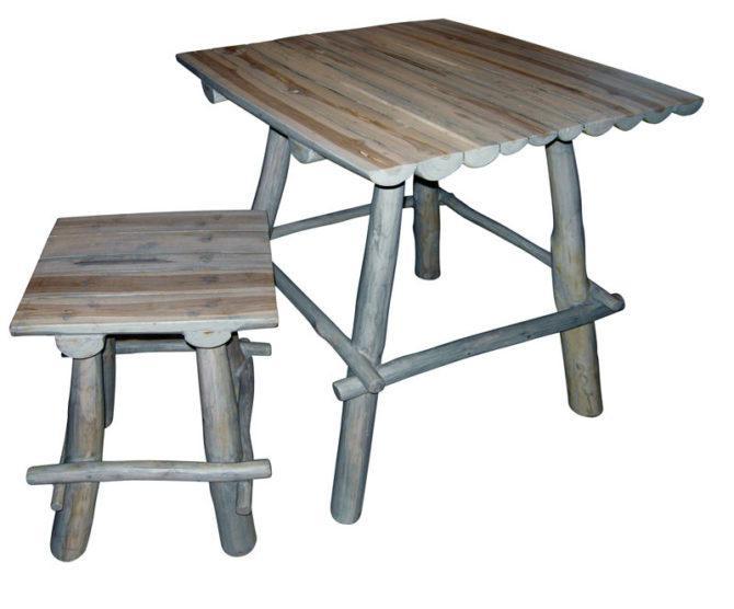 Τραπέζι με Σκαμπό Πικ - Νικ  Ε-227040