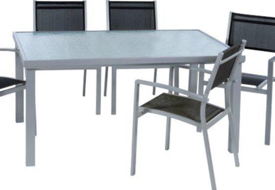 Τραπέζι Αλουμινίου 130Χ70 Sar-220373