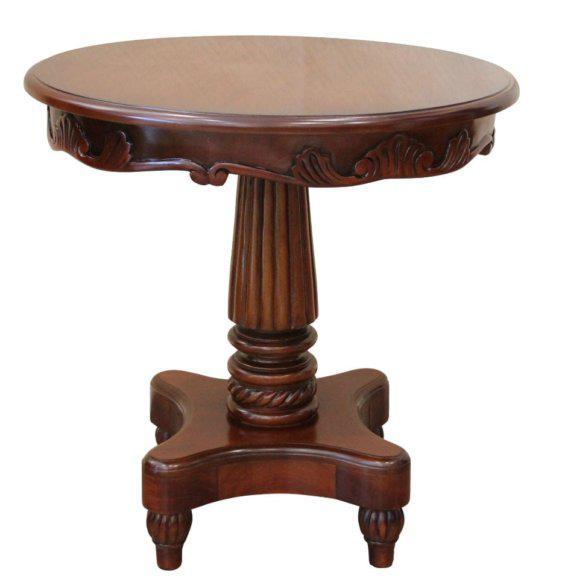 Κλασσικό Τραπέζι Σαλονιού Με Τετράγωνη Βάση G-121050