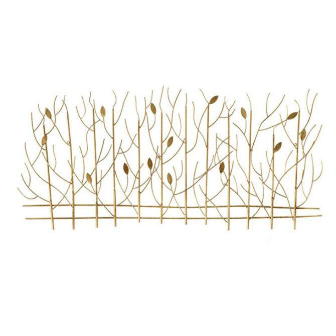 Διακοσμητικά Μεταλλικά Χρυσά Δέντρα Η-147594
