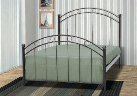 Μεταλλικό Κρεβάτι Με Vintage Σχέδιο  Γ-200015