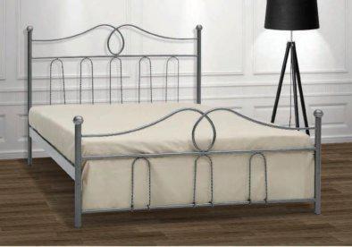 Κρεβάτι Μεταλλικό Με Ψηλό Κεφαλάρι Γ-200023
