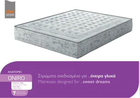 Στρώμα Με Memory Foam Και Latex Anatomic Oniro