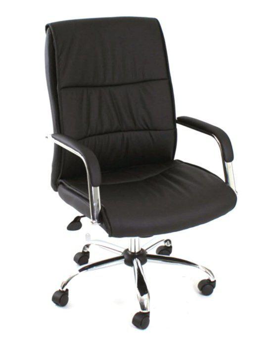 Κάθισμα Γραφείου Με Τετράγωνα Μπράτσα Α-080364
