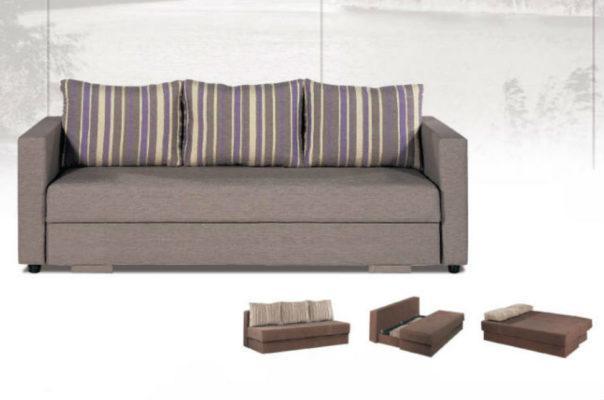 Καναπές-Διπλό Κρεβάτι Ελληνικής Κατασκευής AS-110072