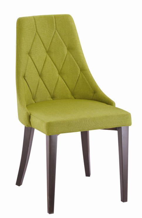 """Καρέκλα Με Μεταλλικά Πόδια και Ύφασμα """"Ρόμβος"""" Κ-190323"""