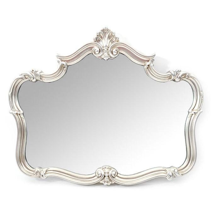 Καθρέφτης Vintage Με Κορώνα Fl-330103