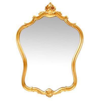 Καθρέφτης σε Χρυσό και Ασημί Χρώμα Fl-330101
