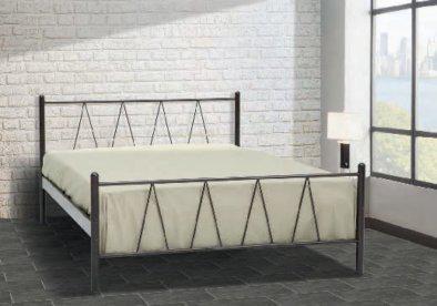 Φθηνό Μεταλλικό Κρεβάτι Με Τάβλες Γ-200026