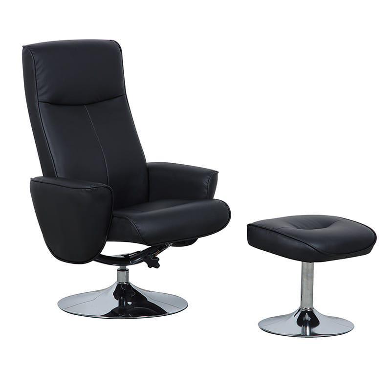 Πολυθρόνα Relax Με Υποπόδιο Fl-132571