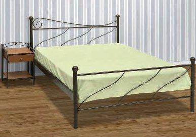 Σιδερένιο Κρεβάτι Με Χαμηλό Ποδαρικό Γ-200029