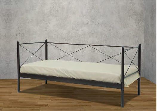 Λιτός Και Κομψός Μεταλλικός Καναπές-Κρεβάτι Γ-110069