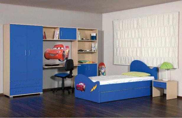 Mcqueen Παιδικό Δωμάτιο Για Αγόρια Α-280032