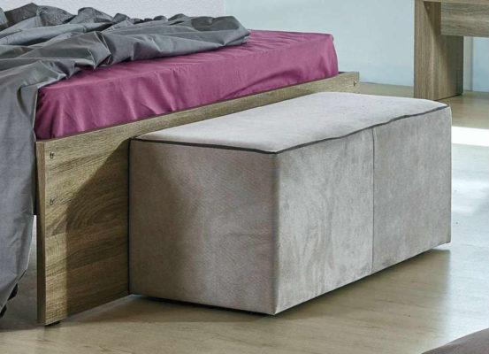 Απλό και Φθηνό Κρεβάτι Με ή Χωρίς Αποθηκευτικό Χώρο Α-050443